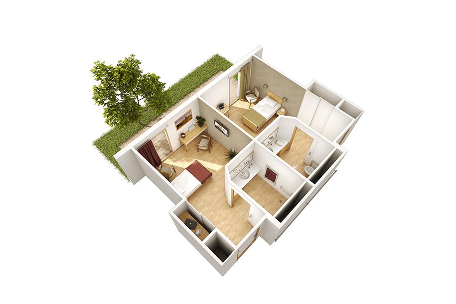 A architecture maison de retraite bern de for Architecture maison de retraite