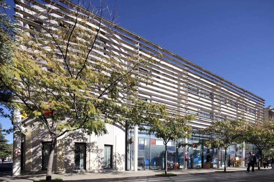 Université Paul Valéry - Bâtiment G © Benoît Wehrlé