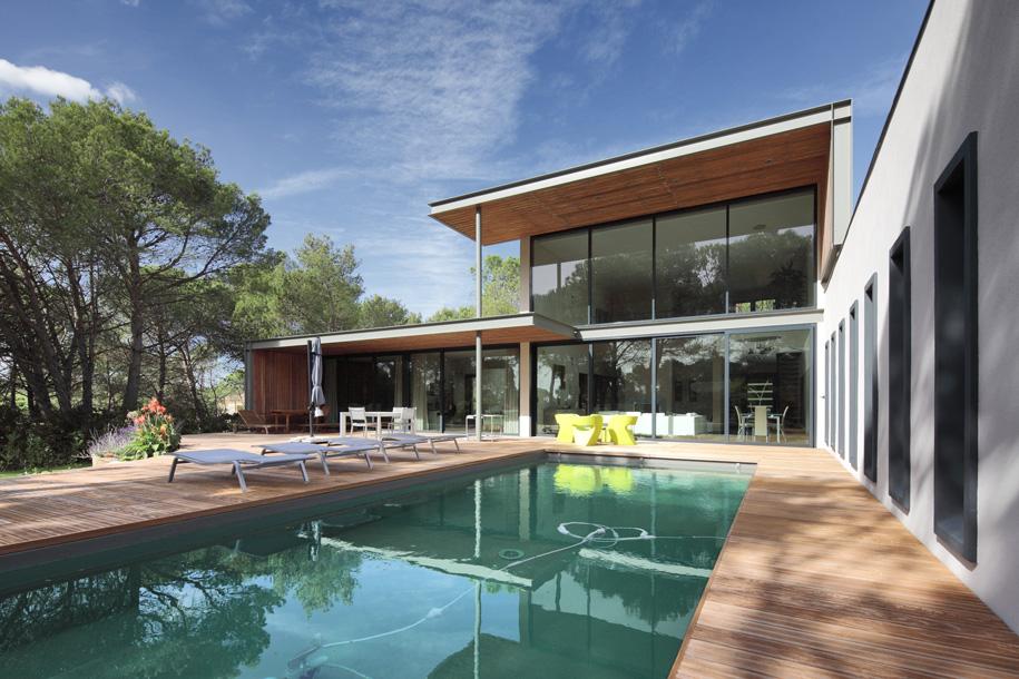 Villa A. © Benoît Wehrlé