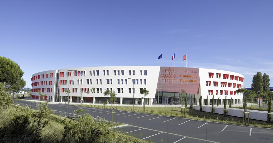 Bureaux Capdeville, Région Languedoc-Roussillon © Benoît Wehrlé